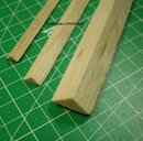 Dreikantleiste 10 x 10 mm Balsa
